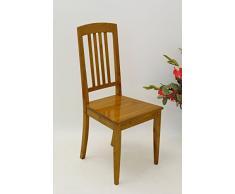 Antike Fundgrube Eleganter Stuhl Sitzmöbel im Biedermeier Stil in Kirschbaum (1424)