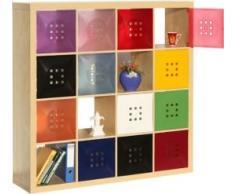 Dekaform Regaltür als Facheinsatz ca. 33,6cm x 33,6cm für Würfelregal Ikea Regal Expedit+Kallax, Nörnäs * Hellgrün
