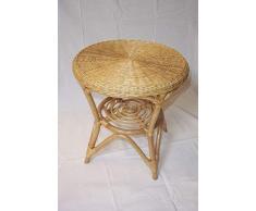 Rattan Tisch honig