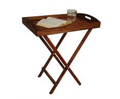 Holz Tablett Tisch Landhaus Stil
