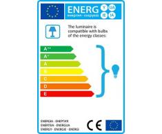 QAZQA Design / Modern / Esstisch / Esszimmer / Pendelleuchte / Pendellampe / Hängelampe / Lampe / Leuchte Loro holz Oval LED geeignet E27 Max. 1 x 60 Watt