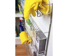 Andrew James - Gewürzregal – 6 Etagen – Zur Befestigung an Wand oder Küchenschrank