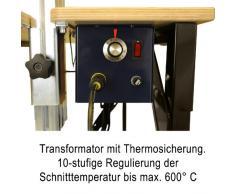 Schneidetisch zum Schneiden von Styropor-/ Polystyrolplatten