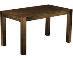 Brasilmöbel Esszimmer Tisch Rio, Pinie Massivholz, geölt und gewachst Eiche antik Cognac, L/B/H: 160 x 80 x 77 cm, Rio Kanto