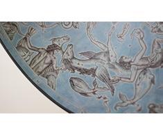 Da Vinci Blue Dust Hergestellt in Italien Globus Bar mit Echtheitszertifikat (blue)