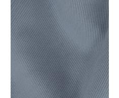 WheatyBags UK Made Bio Buchweizen Schale Bett Kissen, Luxury Cotton Fabric - Gothic Blue, Square - 40cm x 40cm