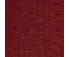 Blickdichter Vorhang nach Maß, Design: Textura Due, Kräuselband mit verdeckten Schlaufen, Höhe: 70cm bis 330cm, Rot (85cm)