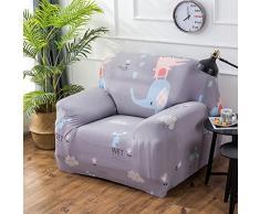 VORCOOL Sofahusse Sofabezug Stretch Sofa Schutz 90x140cm Elastische Sofaüberwürfe für 1 Sitzer (1)