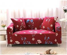EXQUILEG Sofa Cover 1/2/3/4 Sitzer Elastischer Sofaüberwurf Couch Jacquard Sofahusse,Polyester,Verschiedene Muster (B, 3-Sitzer:185-230cm)