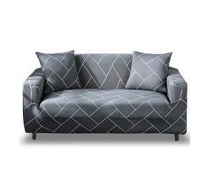 HOTNIU Elastischer Sofa-Überwürfe Antirutsch Stretch Sofaüberzug, Sofahusse, Sofabezug, Sofa Abdeckung Hussen für Sofa, Couch, Sessel in Verschiedene Größe und Farbe (2 Sitzer, Pattern_qhxt)