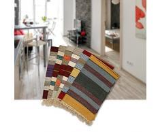 Sanifri home - klassischer Flickenteppich 60x90cm, bunt, Design Trendline 1