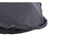 Meerweh Deckchair Auflage für Liege, Polsterauflage, Kissen, grau, 195 x 49 x 10 cm, 74095