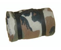 US Army Style Fleece Decke Picknickdecke Schlafdecke Unterlage in verschiedenen Farben Woodland