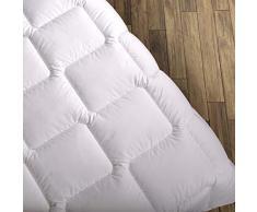 Wendre Premium Bettdecke Flauschige, Weiche & Warme Decke - | Ideal für Allergiker | Waschmaschinenfest | Mikrofaser Decke | 200x200 - King Size | Weiß