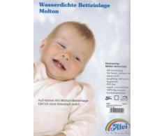 ALVI Wasserdichte Betteinlage Molton//Frottee 90x200