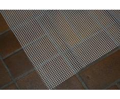 Anti-Rutsch-Matte, Teppichunterlage, Haftgitter, ca. 60x150 cm, weiss/creme