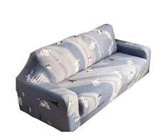Guiran 1/2/3/4 Sitzer Sofabezug Sofaüberwurf Stretch Weich Elastisch Farbecht Blumen-Muster Hussen Für Sofa Stil 13 1 Kissenbezug (Hat Innen)