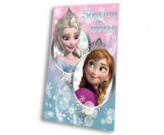 Fleecedecke mit Disney Frozen / Die Eiskönigin Motiv 100x150 cm