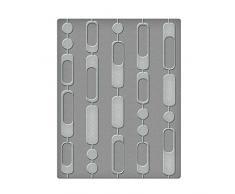 Unbekannt Spellbinders Vorhang Perlen Prägeschablone, Kunststoff, transparent