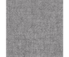 URBANARA Kaschmirdecke/Wolldecke Almora - 100% reine Kaschmir-Woll-Mischung, Hellgrau mit Fransen - 140 x 200 cm. Wohndecke/ Kuscheldecke/ Überwurf