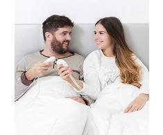 MyDOMO Heizdecke für Doppelbett, mit elektrischer Heizung und Doppeltemperaturregler, 160 x 140 cm, wärmeisolierend, für Betten und Wärme, elektrischer Handtuchwärmer 202