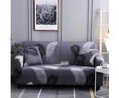 HOTNIU Elastischer Sesselbezug 1-Stück Stretch Sofa-Überwürfe, Sofaüberzug, Sofahusse, Sofabezug, Sofa Abdeckung Hussen für Couch, Sessel in Verschiedene Größe und Farbe (1 Sitzer, Pattern #Hyy)