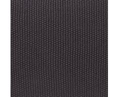 """URBANARA Baumwolldecke """"Antua"""" - 100% Reine Baumwolle, Anthrazit, Gestrickt - 140 x 200 cm, Strick-Decke, Überwurf, Plaid, Sofadecke, Kuscheldecke"""
