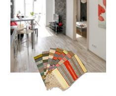 Sanifri home - klassischer Flickenteppich 60x90cm, bunt, Design Multimix 1