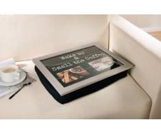 Knie-Tablett mit Kissen - 2 Rahmen für eigene Fotos