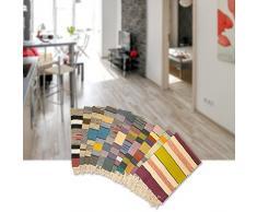 Sanifri home - klassischer Flickenteppich 60x90cm, bunt, Design Trendline 4