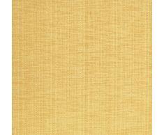 Blickdichter Vorhang nach Maß, Design: Textura Due, Kräuselband mit verdeckten Schlaufen, Höhe: 70cm bis 330cm, Hellgelb (225cm)