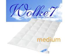 Hanskruchen | 975.50.037 | WOLKE 7 – Hochwertige Bettdecke – MEDIUM – 240 x 220cm – 90% Naturdaunen / 10% Federchen – 1.570 gr. – Deutsches Qualitätsprodukt