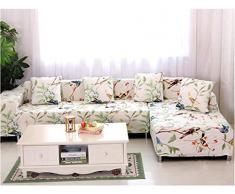 GLITZFAS 1/2/3/4 Sitzer Elastisch Sofa Überwürfe Sofabezug Sofahusse Sofa Abdeckung Stretch weich elastisch (G,4-Sitzer:235-300cm)