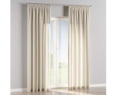 Dekoria Vorhang mit Kräuselband Dekoschal Blickdicht 1 Stck. 130 × 260 cm hellgrau Maßanfertigung möglich