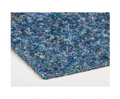 Nadelfilz MERLIN – Blau, 200x100cm ✓ Antistatisch ✓ Strapazierfähig ✓ Zertifizierte Auslegeware   Filz-Teppich, Nadel-Vlies in Meterware   Bodenbelag als Messe-Teppichboden, Büro-Teppich   Gewerblicher Nadelfilzteppich,