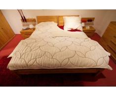 Wolldecke, Tagesdecke, Oberbett, 100% aus Wolle - 20% Kaschmir Wolle