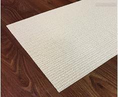 Permium Structur-Teppichunterlage – Teppich Stop – Teppichunterleger – Antiruschtmatte für Alle Glatte und Harte Böden in Verschiedenen Größen, Rutschfest in 60 x100 cm (zuschneidbar)