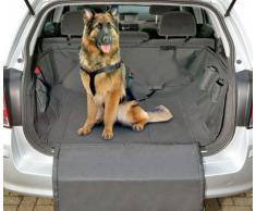 Hunde Schondecke -Autoschondecke- Hunde Autoschutzdecke Kofferraumschutzdecke CAR SAFE DELUXE Schwarz 165 x 126 cm