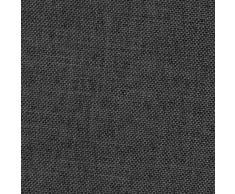 Brilliant Sofaüberwurf - Eckig 160 x 260 cm Farbe wählbar - Grau Anthrazit Tagesdecke UNI Einfarbig mit Lotus Effekt