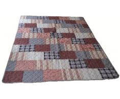 Beauty.Scouts Patchworkdecke Tagesdecke Plaid New Dundee 155x180 cm Größe 155x180