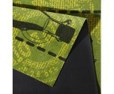 Küchenläufer / Küchenmatte / Dekoläufer für Küche und Bar / Teppich / Läüfer / Läufer / waschbare Küchenläufer / Küchendeko Modell ,,COOK & WASHgrün - Olive Größe ca. 50 x 150 cm / Maschinen waschbar auf 30 grad