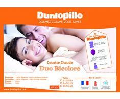 Dunlopillo Steppbett Duo Weiß 220x 240cm