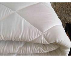 Hotel Qualität Winter Bettdecke – Hohlfaser 300 gsm – Einzelbett – Doppelbett – King Size, 100% Polyester / Microfaser / Polyester, weiß, Double - 86 x 94 (220cm x 240cm)