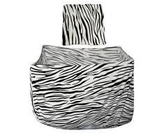 HomeDecTime Sofabezug Zebra Stretchhussen Stretchbezug Sofahusse Sesselbezug Sitzbezug Sesselüberwurf - 1 Sitzer
