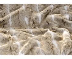 Felldecke, Webpelzdecke Gazelle 260x300cm