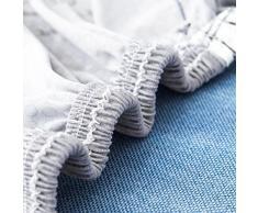 VORCOOL Sofahusse Sofabezug Stretch Sofa Schutz 145x185cm elastische Sofaüberwürfe für 2 Sitzer (1)