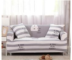GLITZFAS 1/2/3/4 Sitzer Elastisch Sofa Überwürfe Sofabezug Sofahusse Sofa Abdeckung Stretch weich elastisch (N,3-Sitzer:185-230cm)