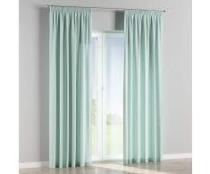 Dekoria Vorhang mit Kräuselband Dekoschal Blickdicht 1 Stck. 130 × 260 cm hellblau Maßanfertigung möglich