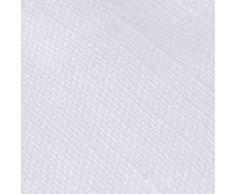 URBANARA Bettwäsche Bellvis - 100% reiner Leinen, Weiß - 1 Bettbezug 135x200 cm + 1 Kissenbezug 80x40 cm, 2-teiliges Set Leinen-Bettwäsche