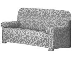 Over Sofa Überwurf 3 Sitzer Fb. 06-grau